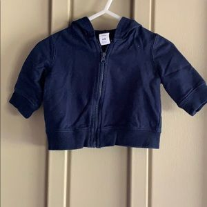 Circo Navy Hooded Jacket Newborn